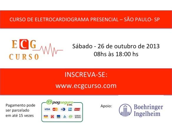 ECG curso intensivo - 26 de outubro de 2013