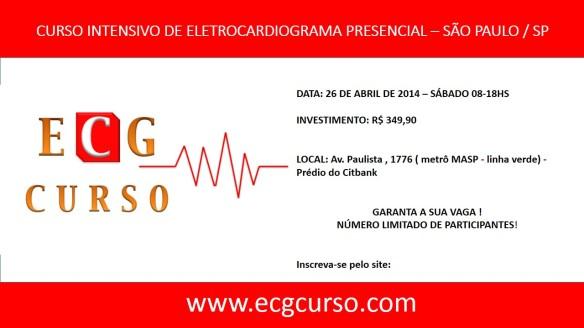ECG CURSO - curso intensivo de ECG em 01 dia