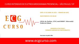 CURSO DE ECG CURSO 2015
